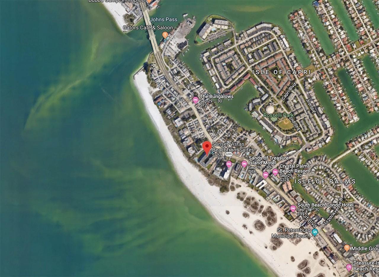 Treasure Island, Sunset Vistas Condos, Florida