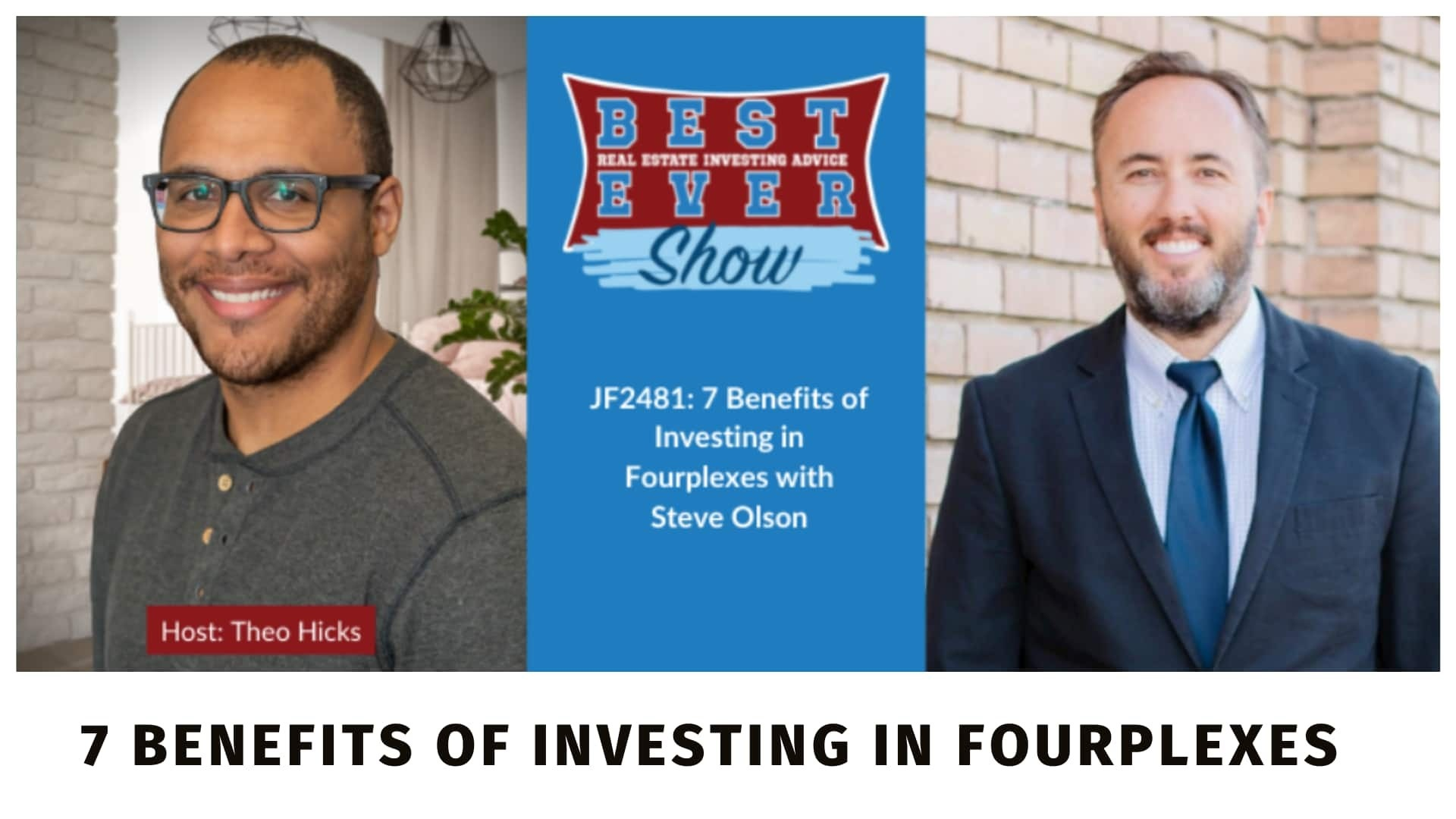 Episode on the Best Ever Real Estate Investing Advice Podcast