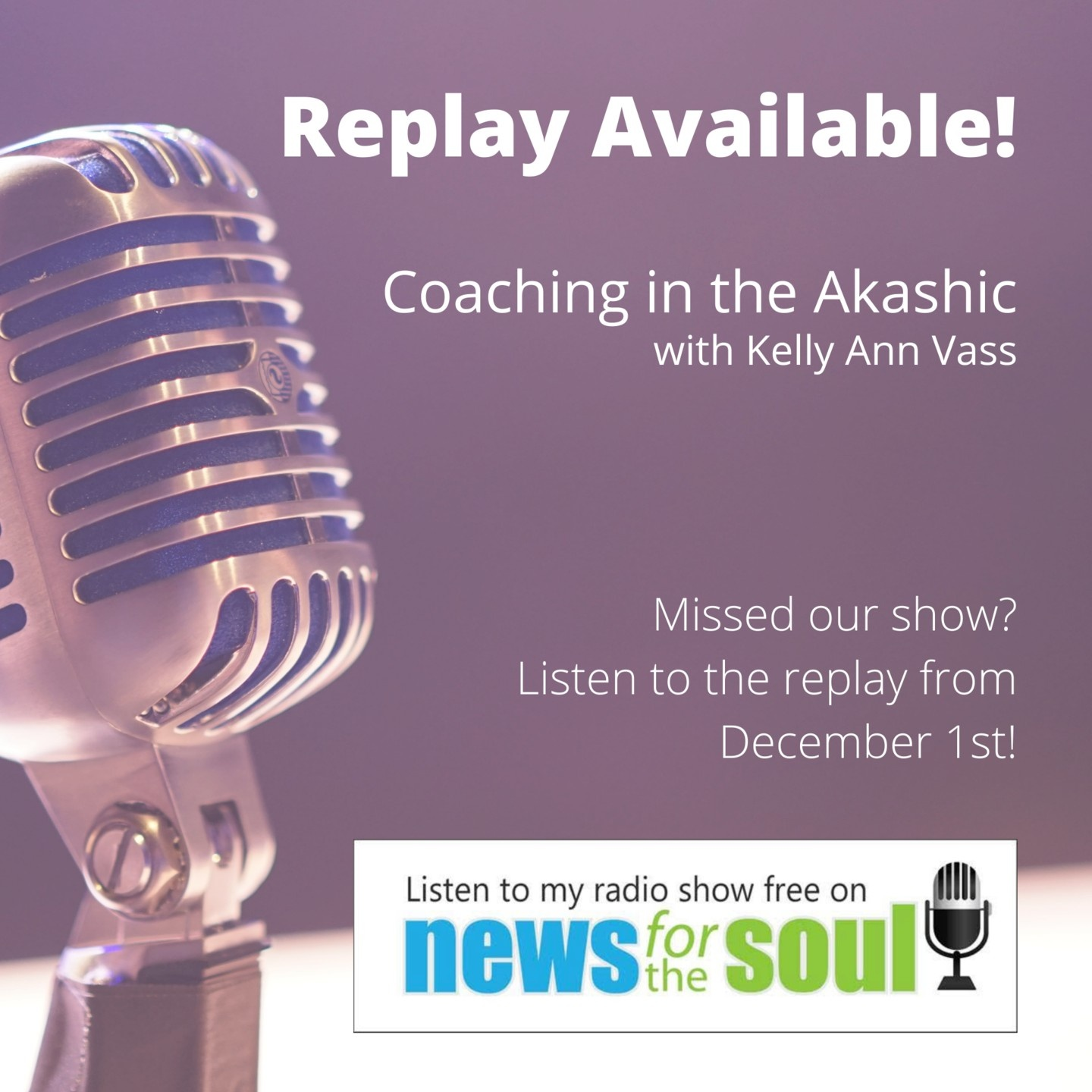 News for the Soul Radio Show