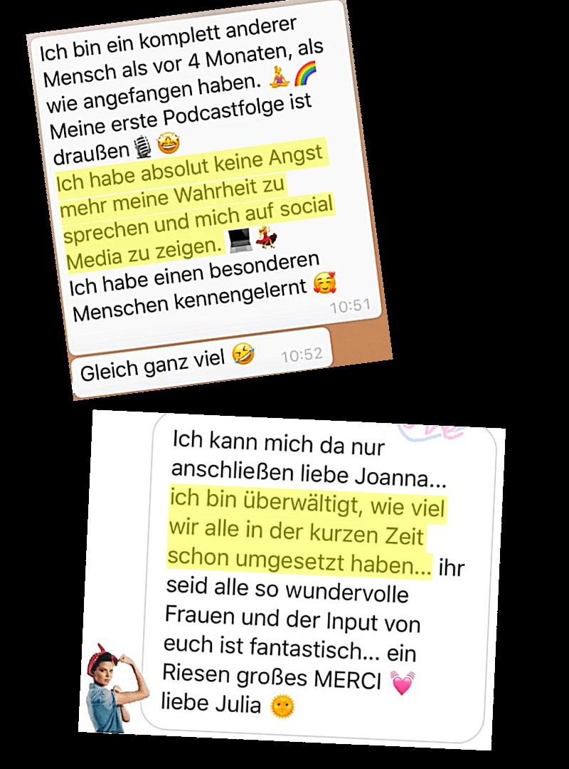 Fein Fühlen & Stark Sein Testimonial 3