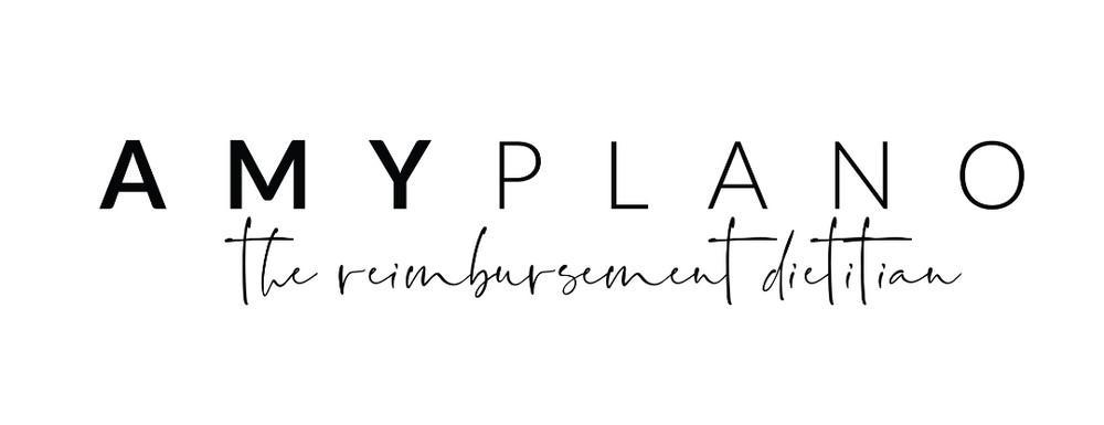 Amy Plano The Reimbursement Dietitian