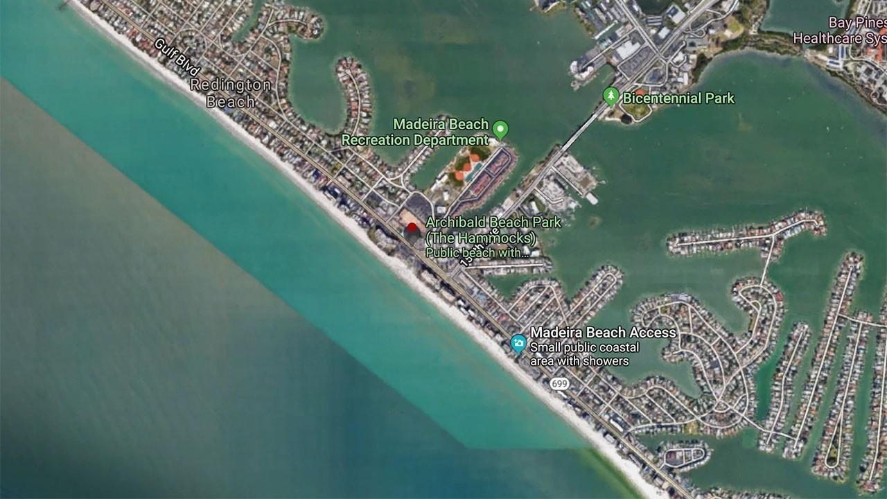Archibald Beach Park Map