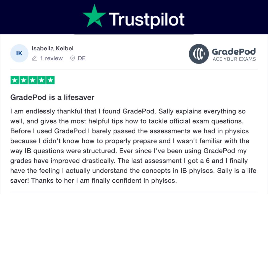 GradePod is a lifesaver trustpilot review