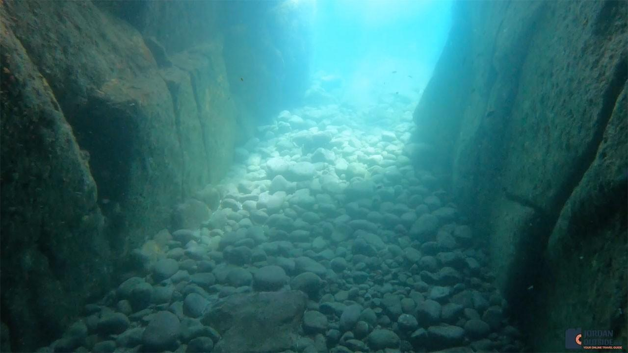 Sea Lion Cave Underwater