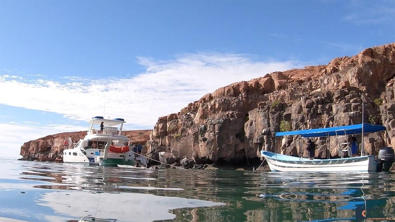 Boats in the Sea of Cortez