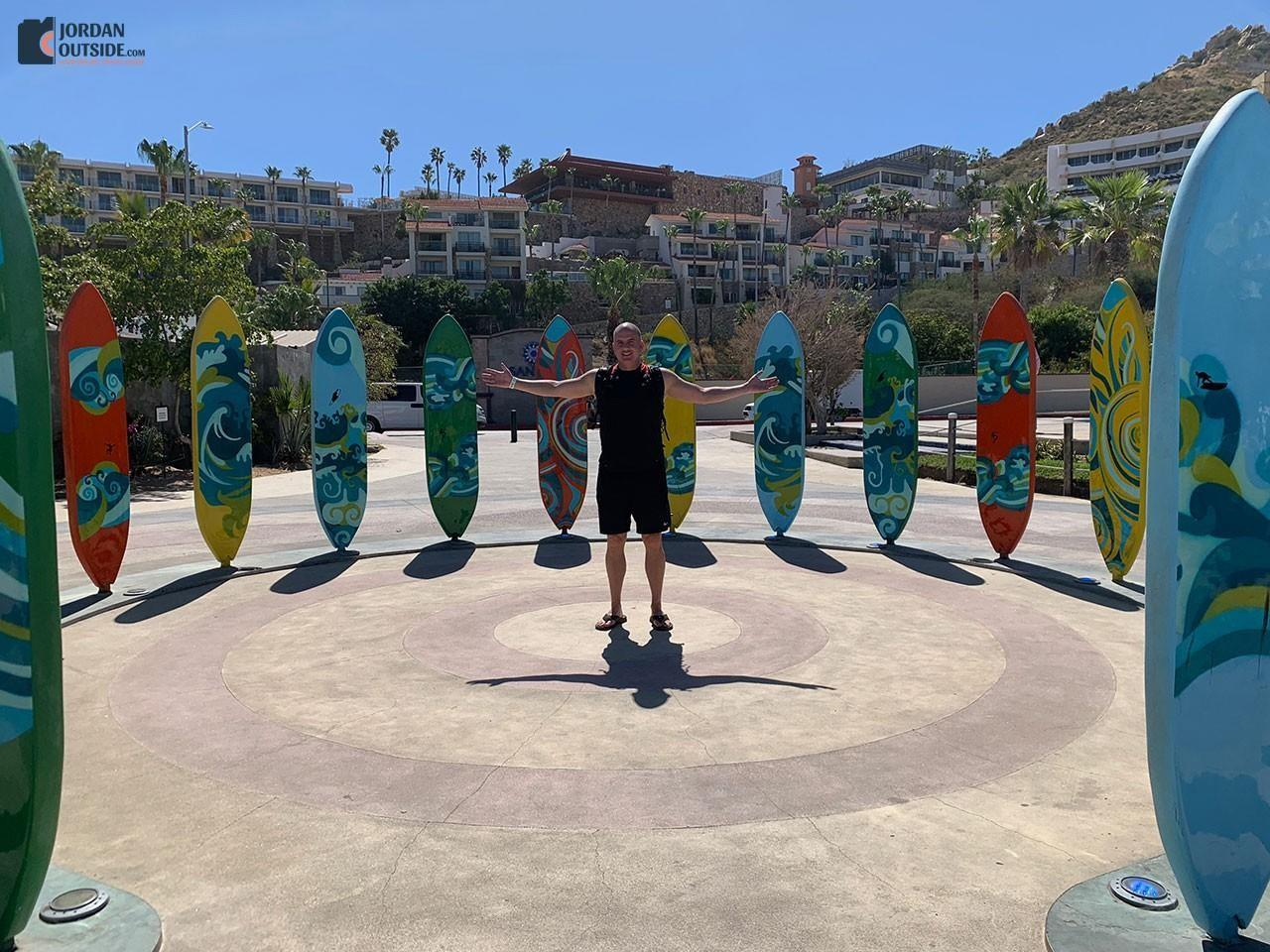 Cabo San Lucas Surf Board Plaza