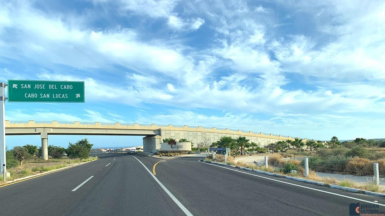 Cabo San Lucas Turnoff Area