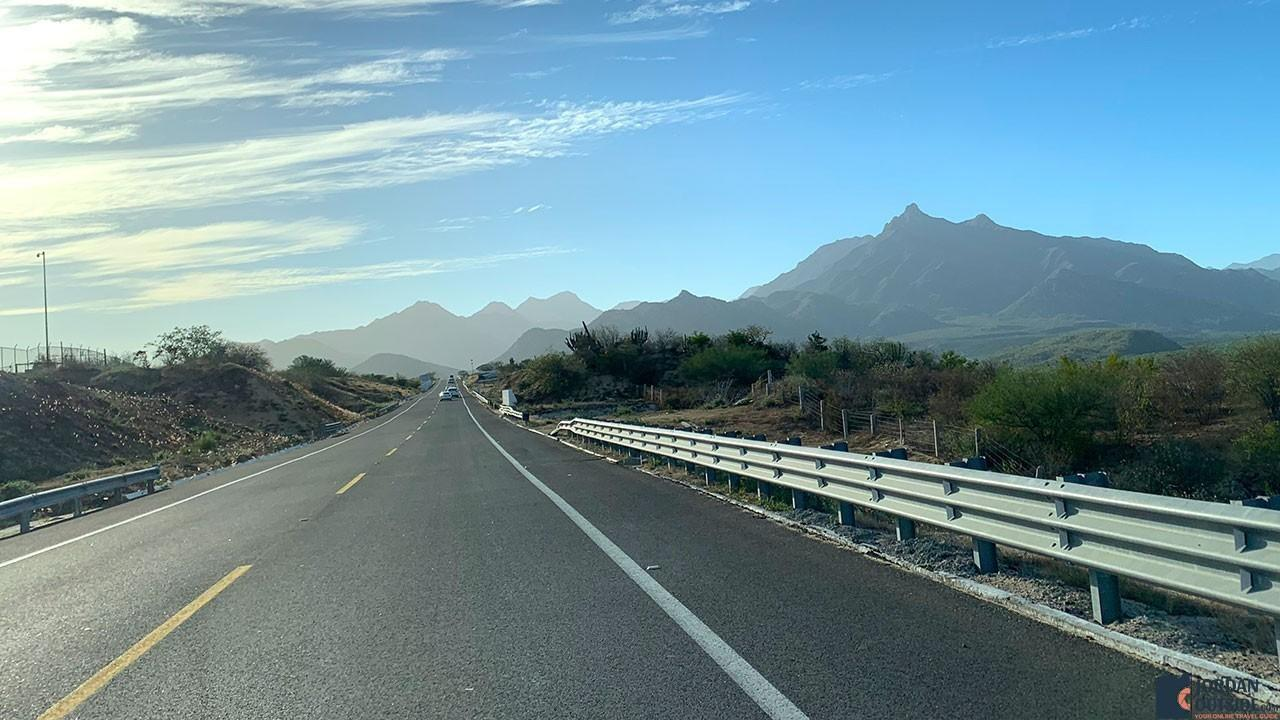 Highway to Cabo San Lucas