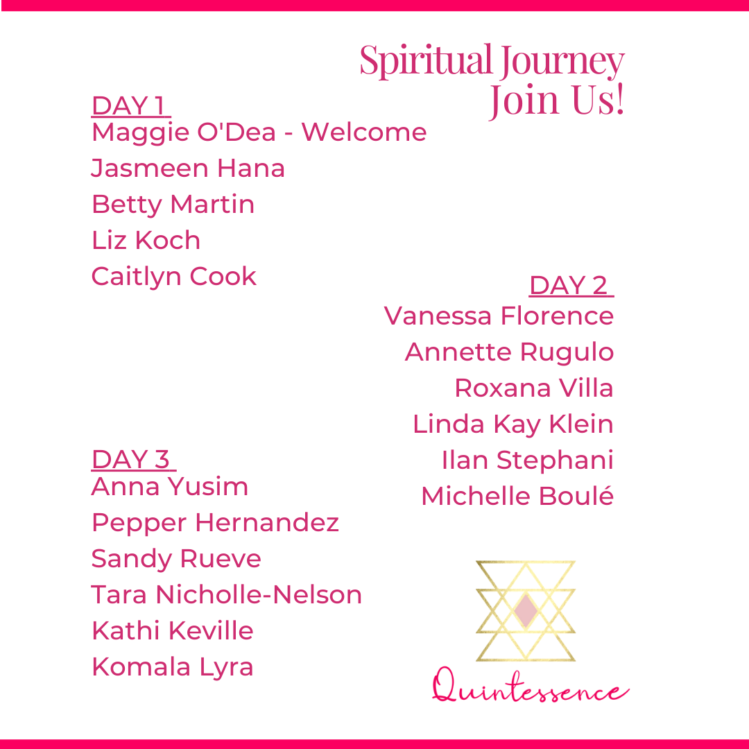 Spiritual Journey Present Schedule Download