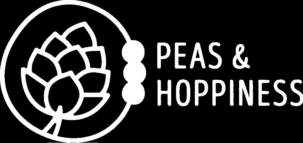 Peas and Hoppiness Logo