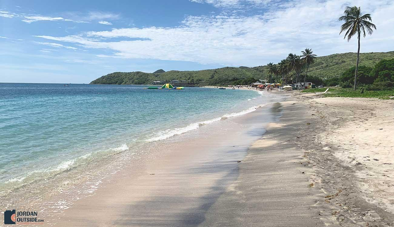 Beach at St. Kitts