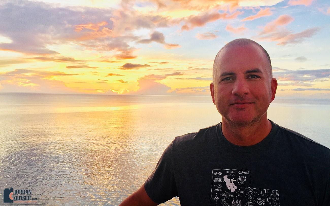 Sunset at St. Kitts