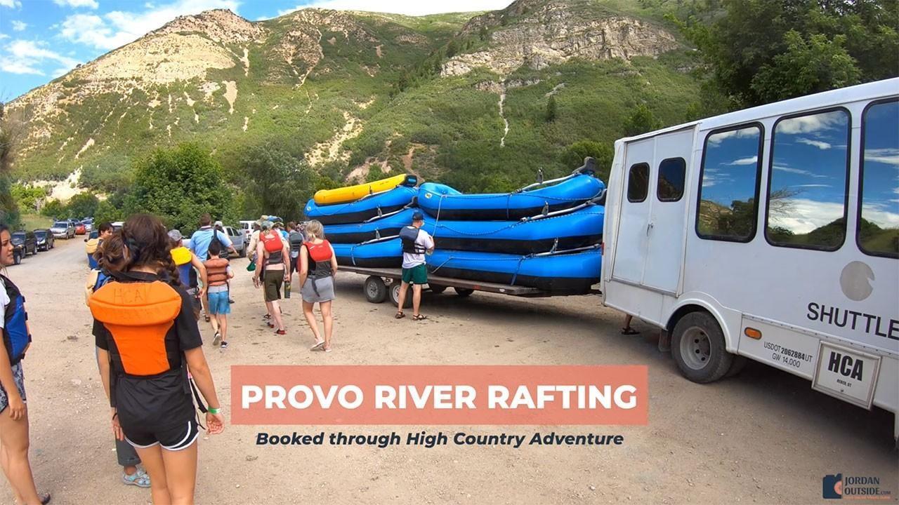 Provo River Rafting