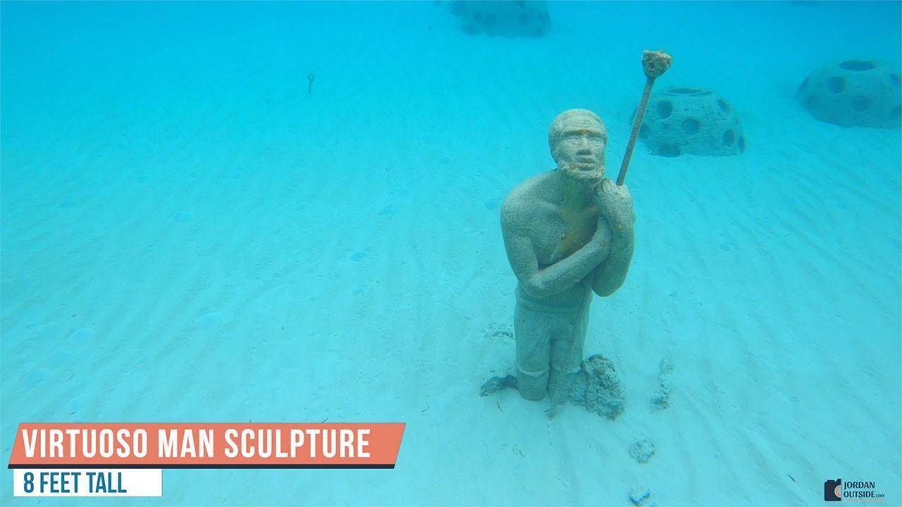 Virtuoso Man Sculpture