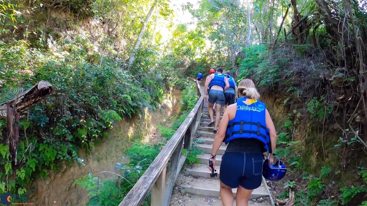 Damajagua Falls Trail
