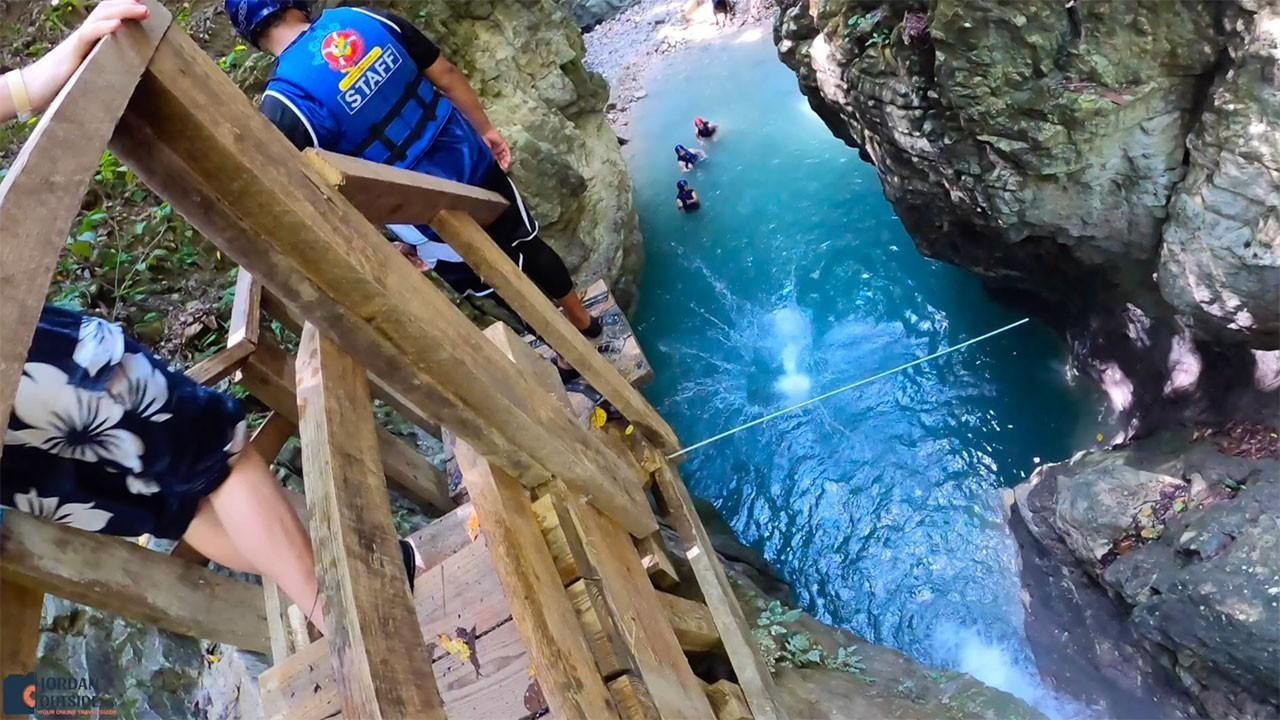 25 foot jump at Damajagua Waterfalls