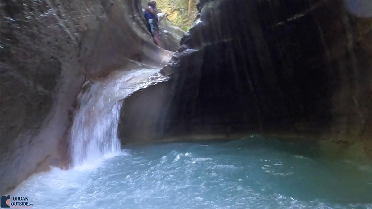 Natural Waterfall Slide