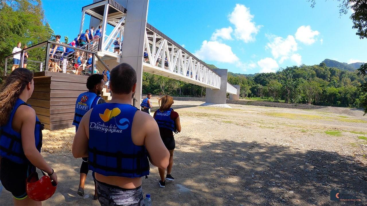 Damajagua Waterfalls Bridge