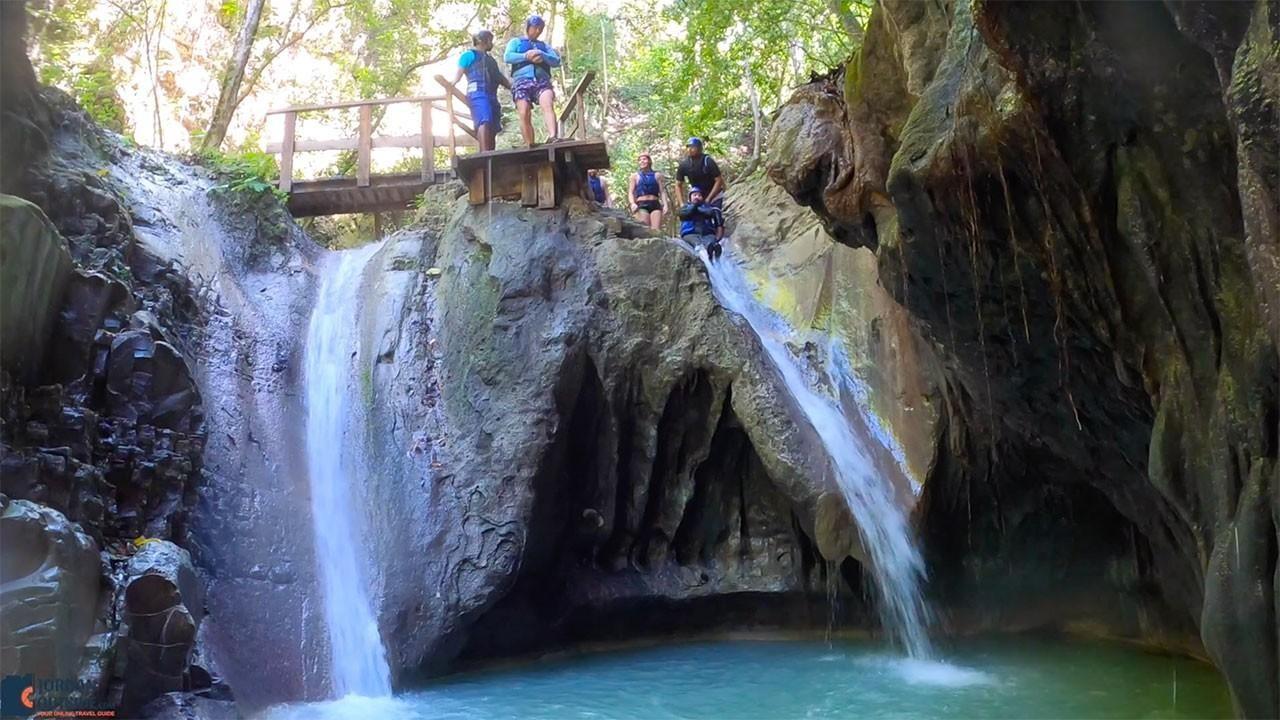 Waterfall Jump and Slide at Damajagua Falls
