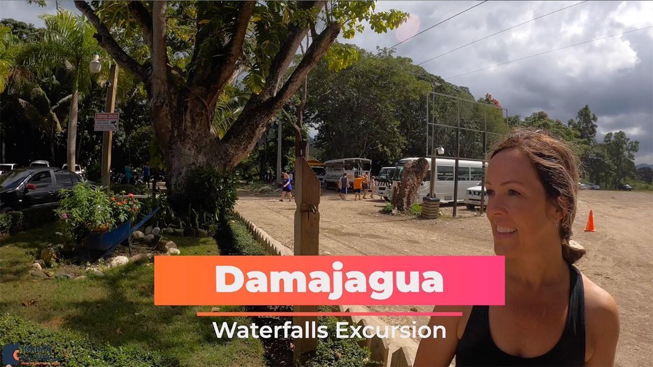 Julie at Damajagua Waterfalls Excursion