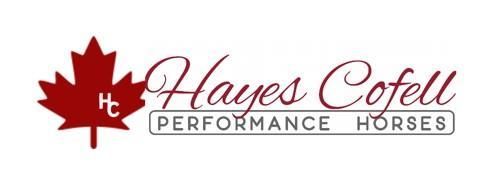 Hayes Cofell Performance Horses logo