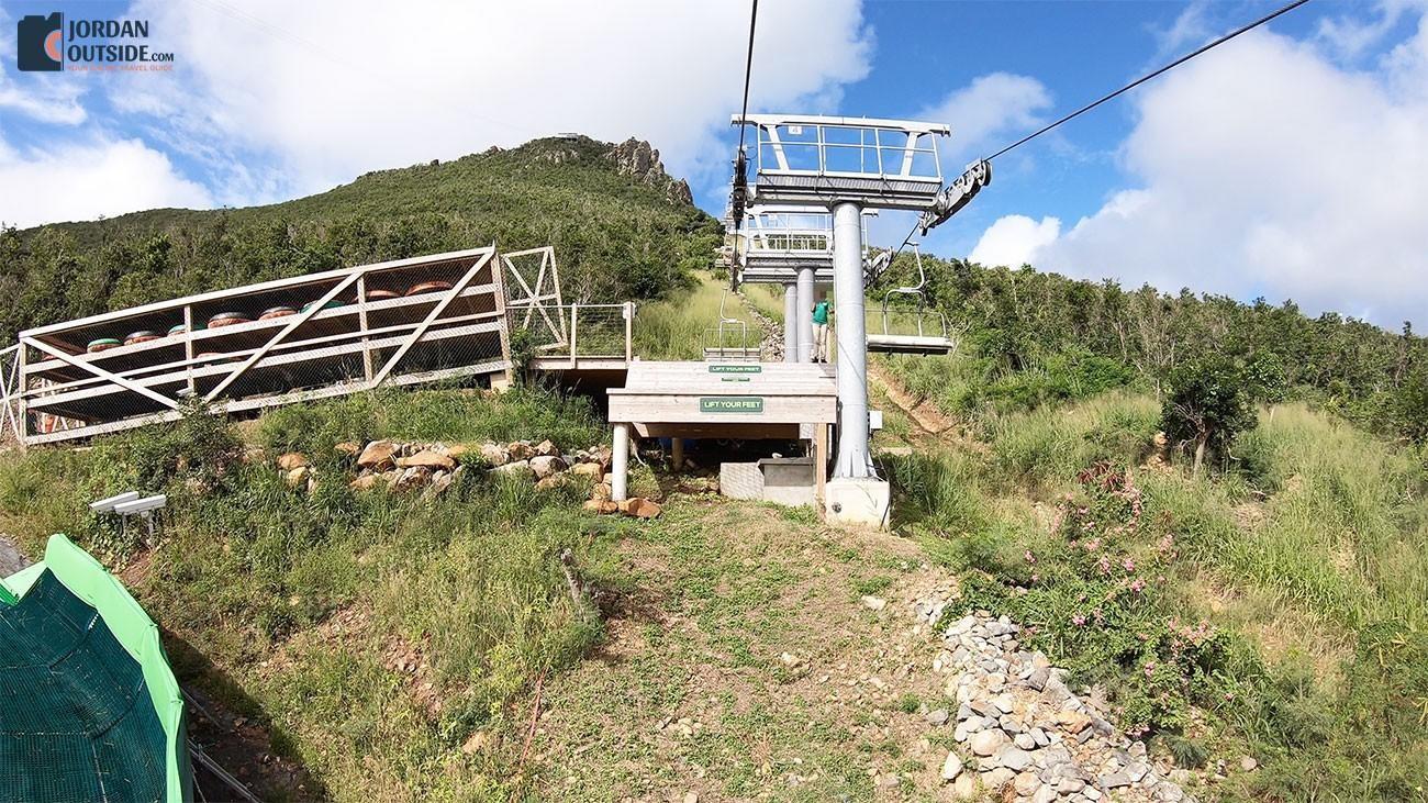 Schooner Ride Lift Stop