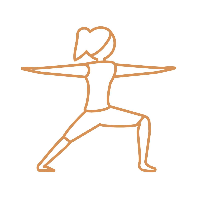 Warrior II Yoga Pose