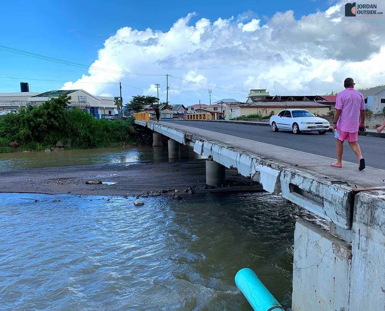 Dominica bridge