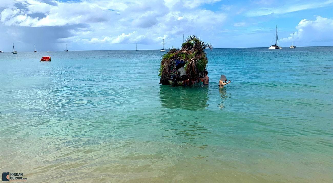 Reduit Beach Drink Boat
