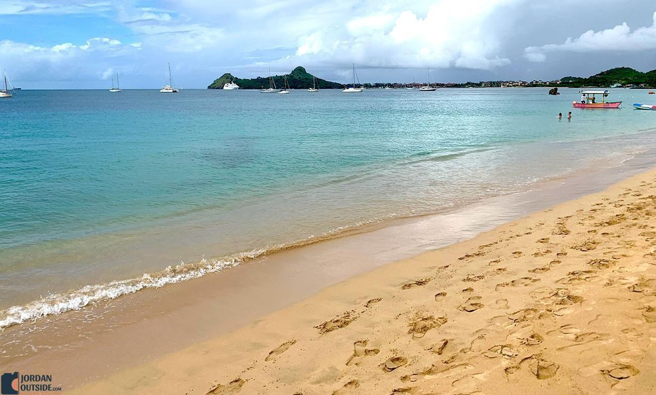 Reduit Beach, St. Lucia
