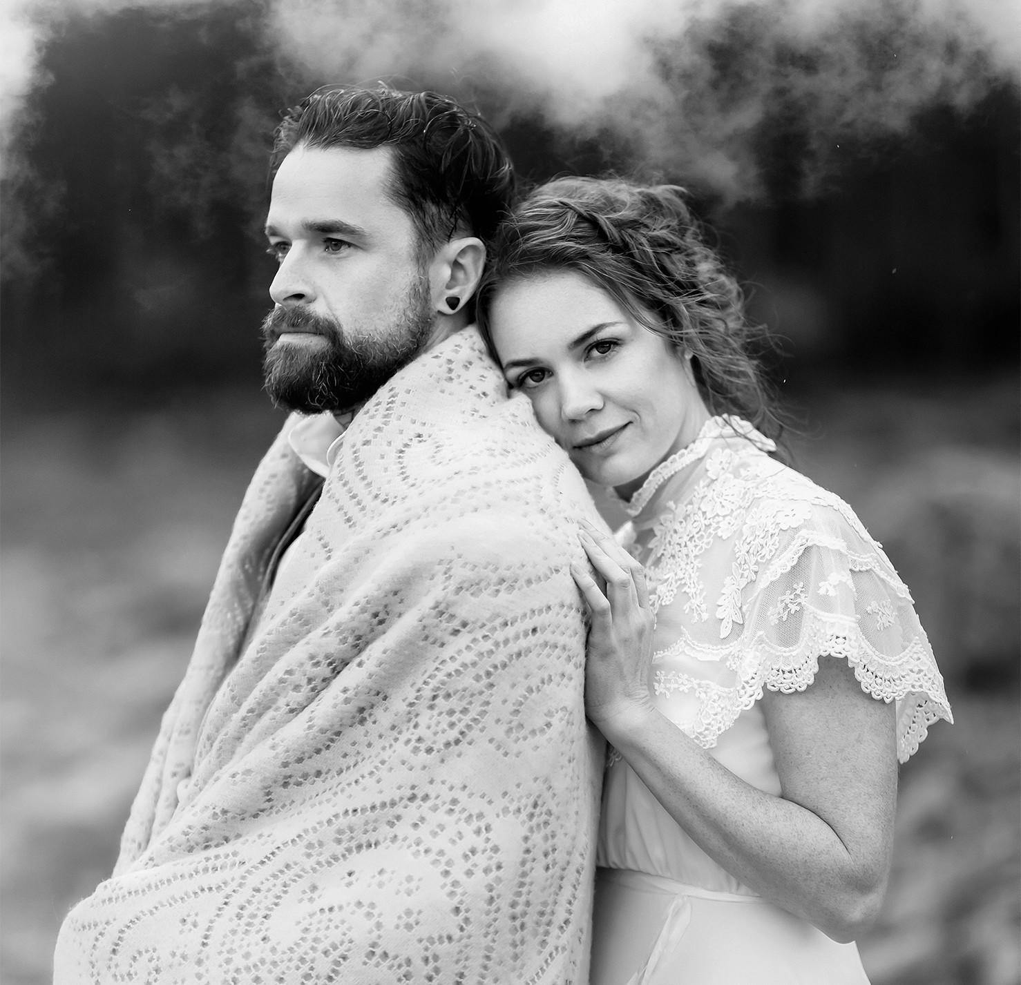 Aaron Patrick and Alissa King