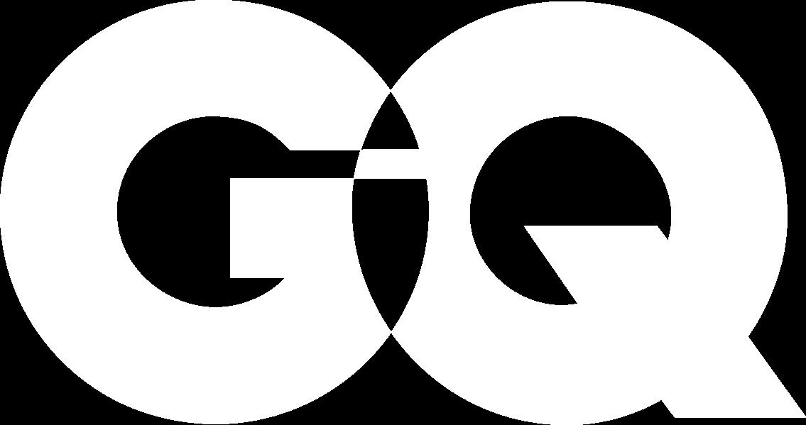 gq magazine logo white