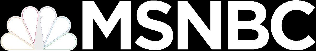 msnbc logo white