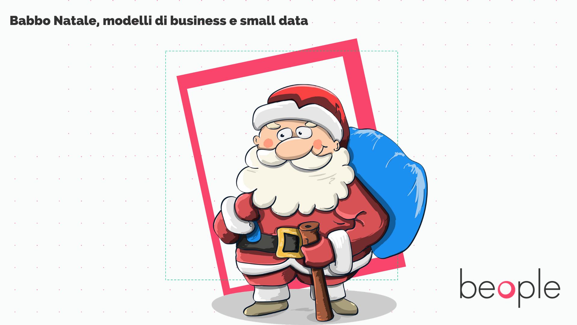 Bambini Babbo Natale Disegno.Babbo Natale Modelli Di Business E Small Data Articoli