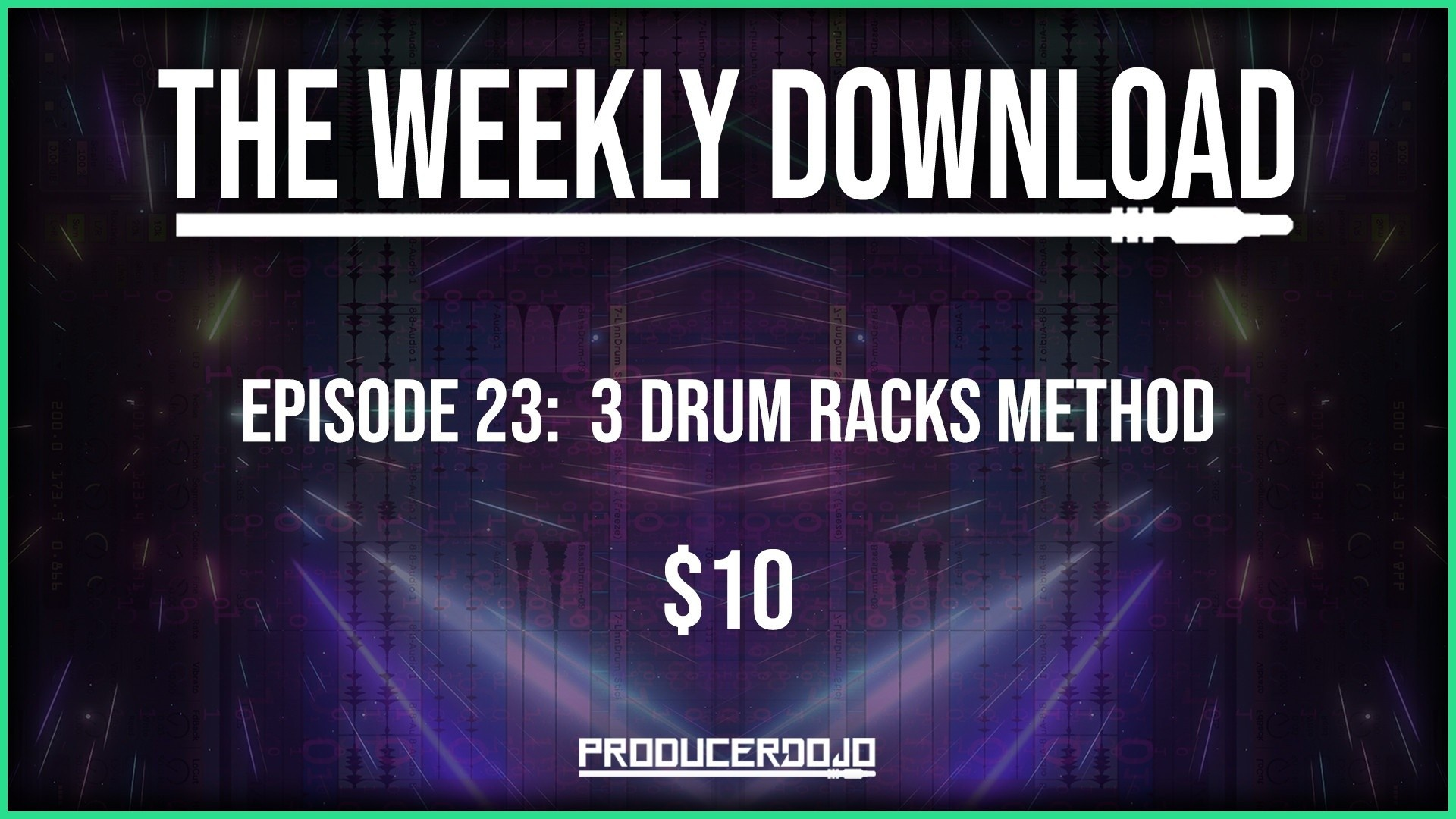 Music production tutorials for Ableton sound design and EDM production