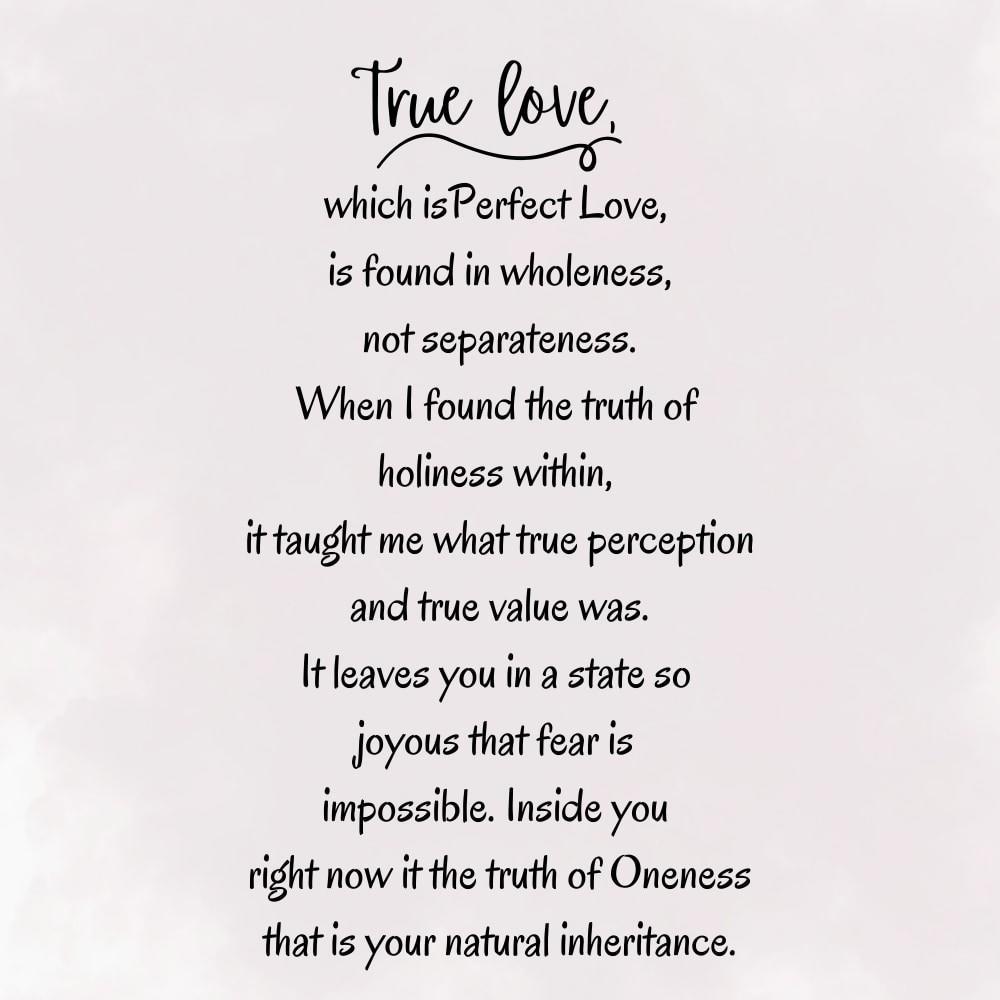 True Love - Truforgiveness