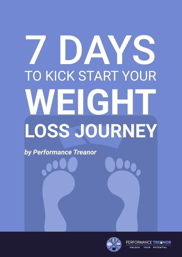 7 days to kick start your weight loss journey guide cover