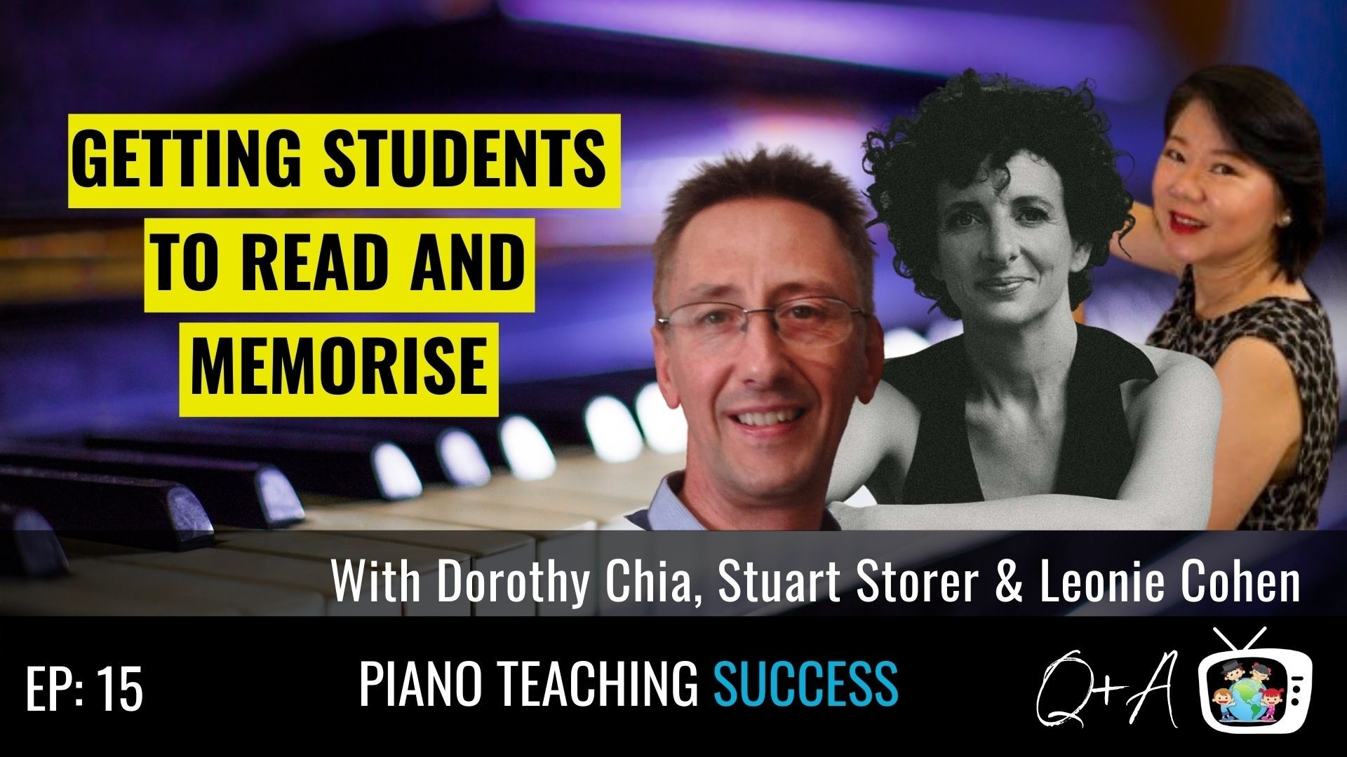 Dorothy Chea, Stuart Storer, Leonie Cohen