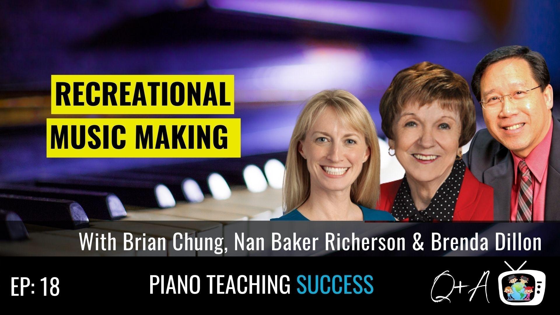 Brian Chung, Nan Baker Richerson, Brenda Dillon