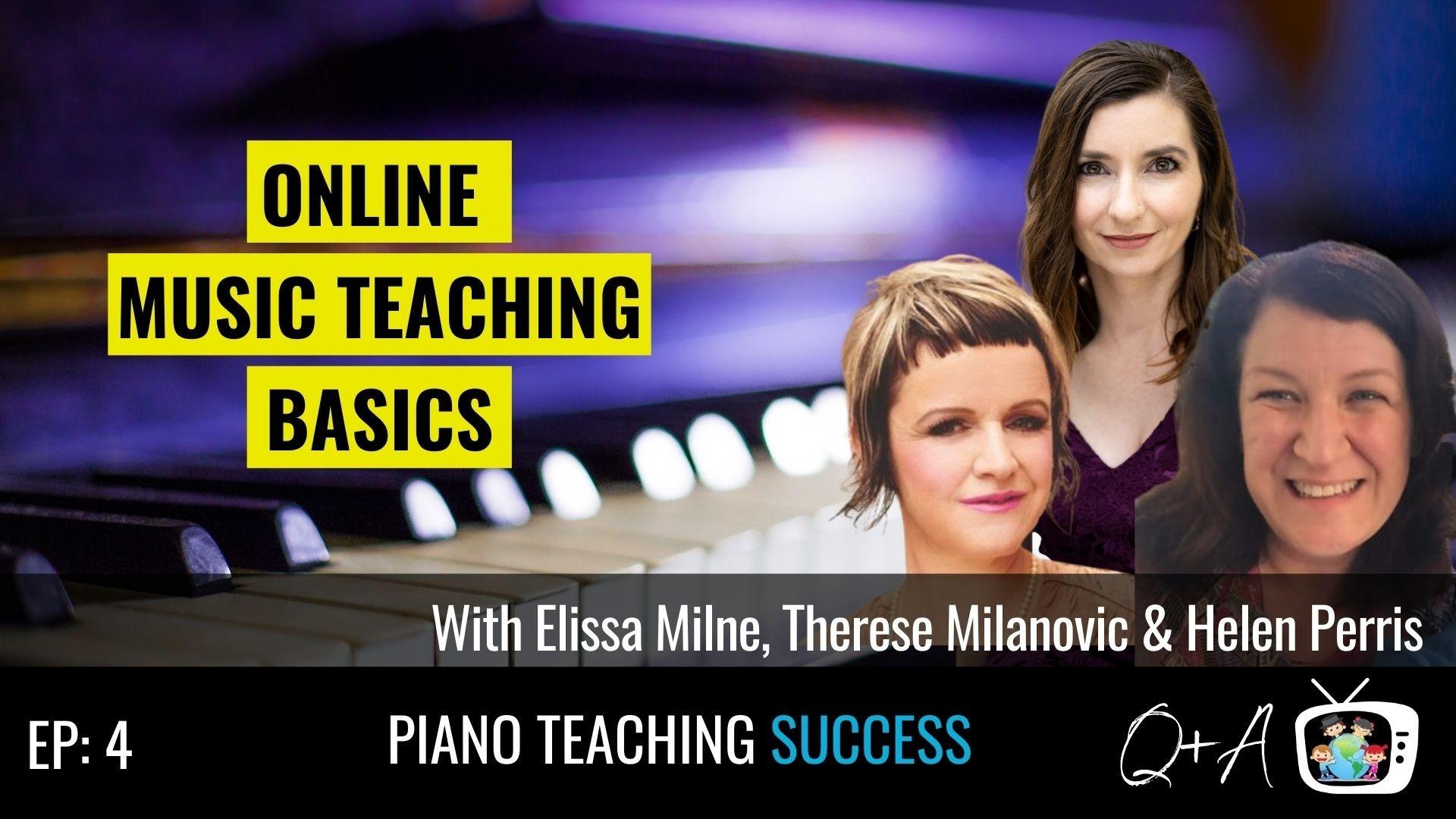 Elissa Milne, Therese Milanovic, Helen Perris
