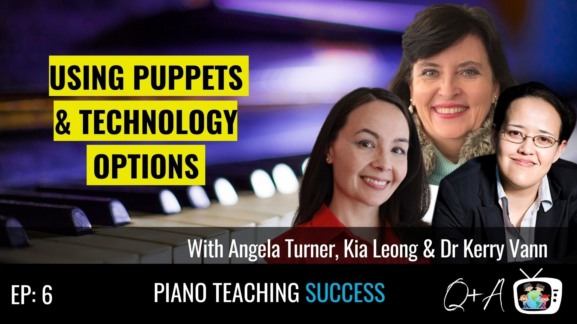Angela Turner, Kia Leong, Dr Kerry Van