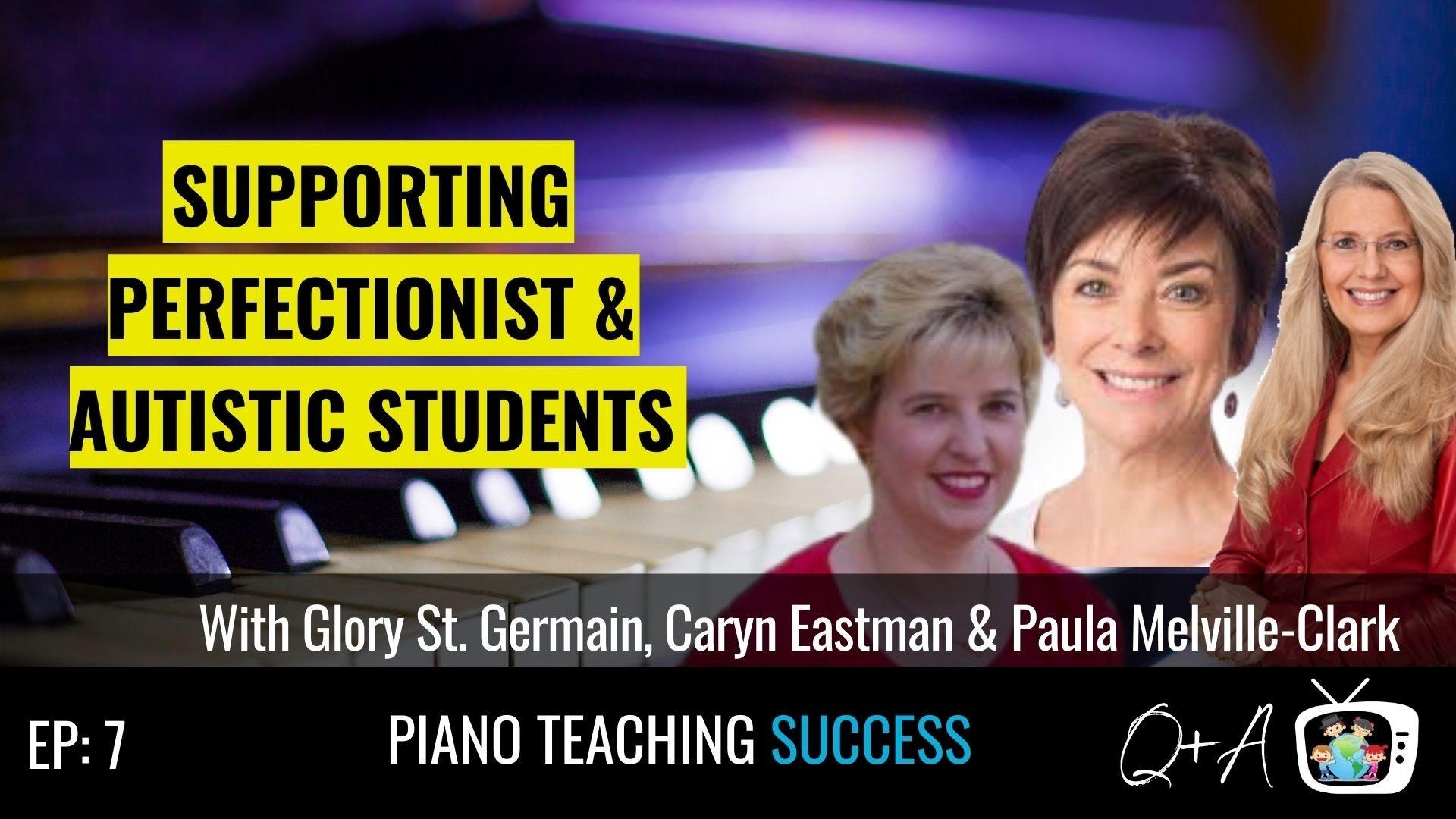 Glory St Germain, Caryn Eastman, Paula Melville-Clark