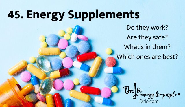 Energy Supplements - do they work?