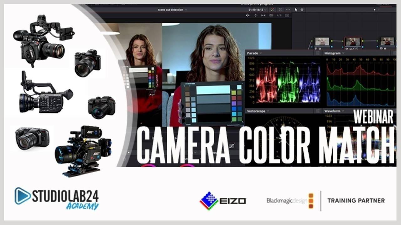 Camera Color matching daVinci Resolve