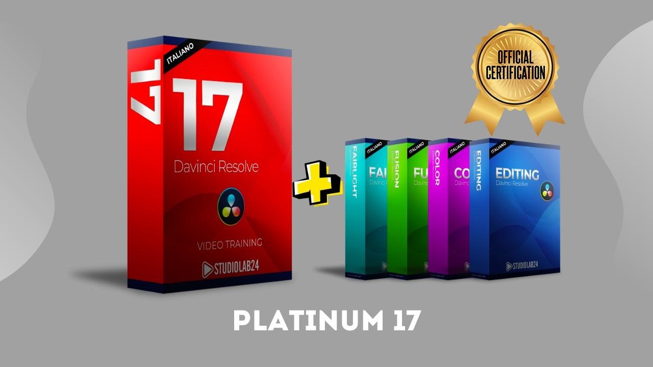 Davinci Resolve 17 Platinum video corso