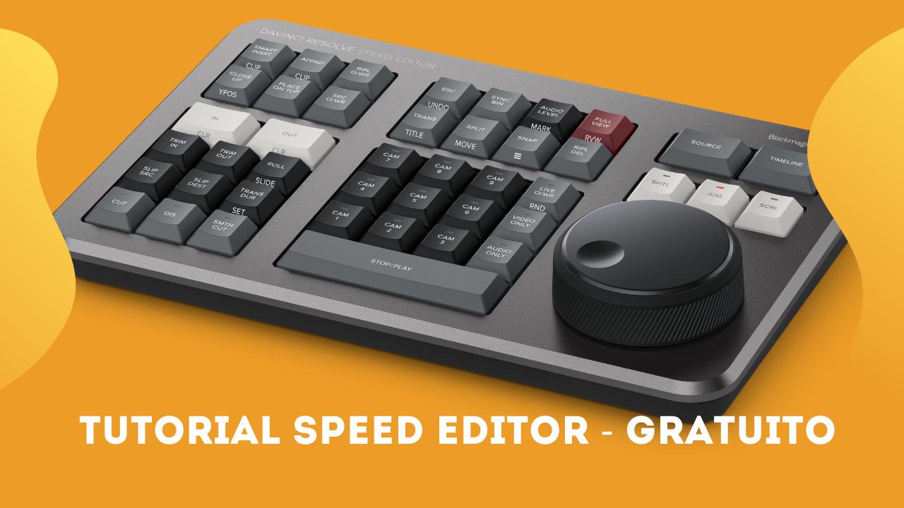 Speed Editor daVinci Resolve