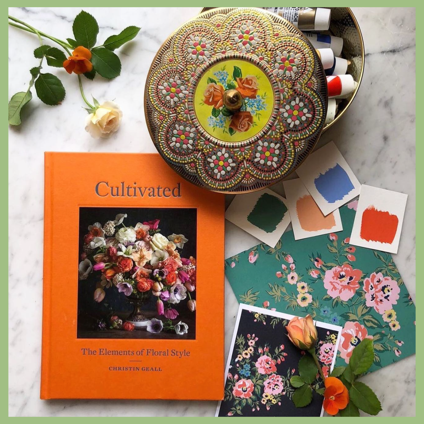 cultivated the elements of floral style book