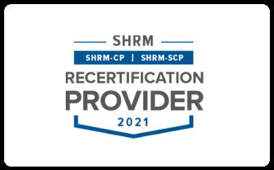 SHRM Recertification logo
