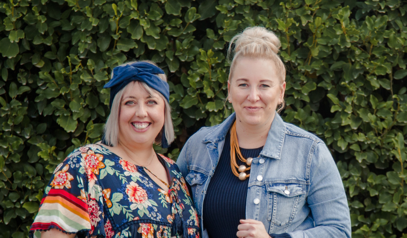 Sam Browne and Jo Jensen, virtual assistant trainers