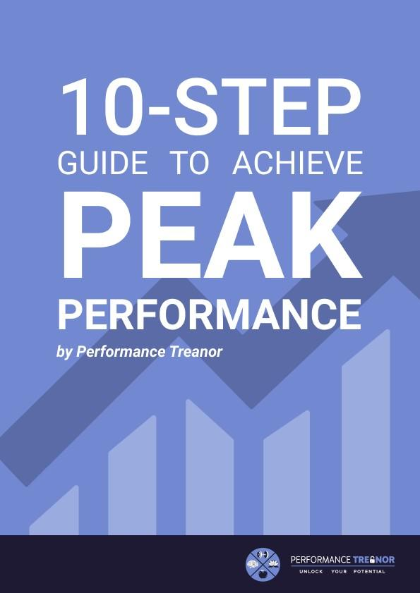 10 steps to achieve peak performance ebook cover
